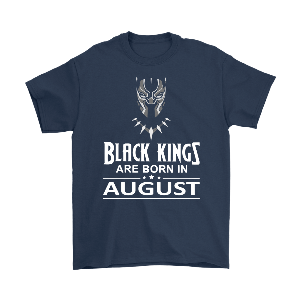 Black Kings Are Born In August Black Panther Shirts 12