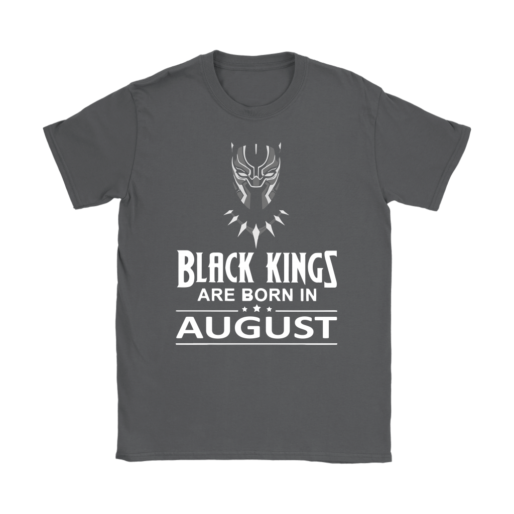 Black Kings Are Born In August Black Panther Shirts 7