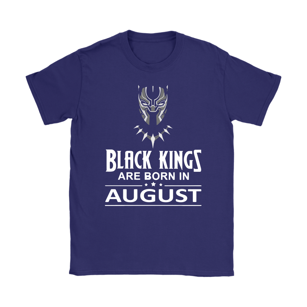 Black Kings Are Born In August Black Panther Shirts 9