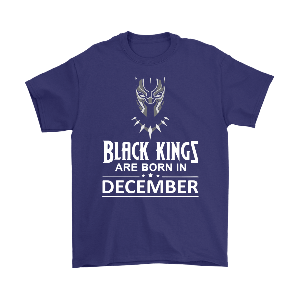 Black Kings Are Born In December Black Panther Shirts 4