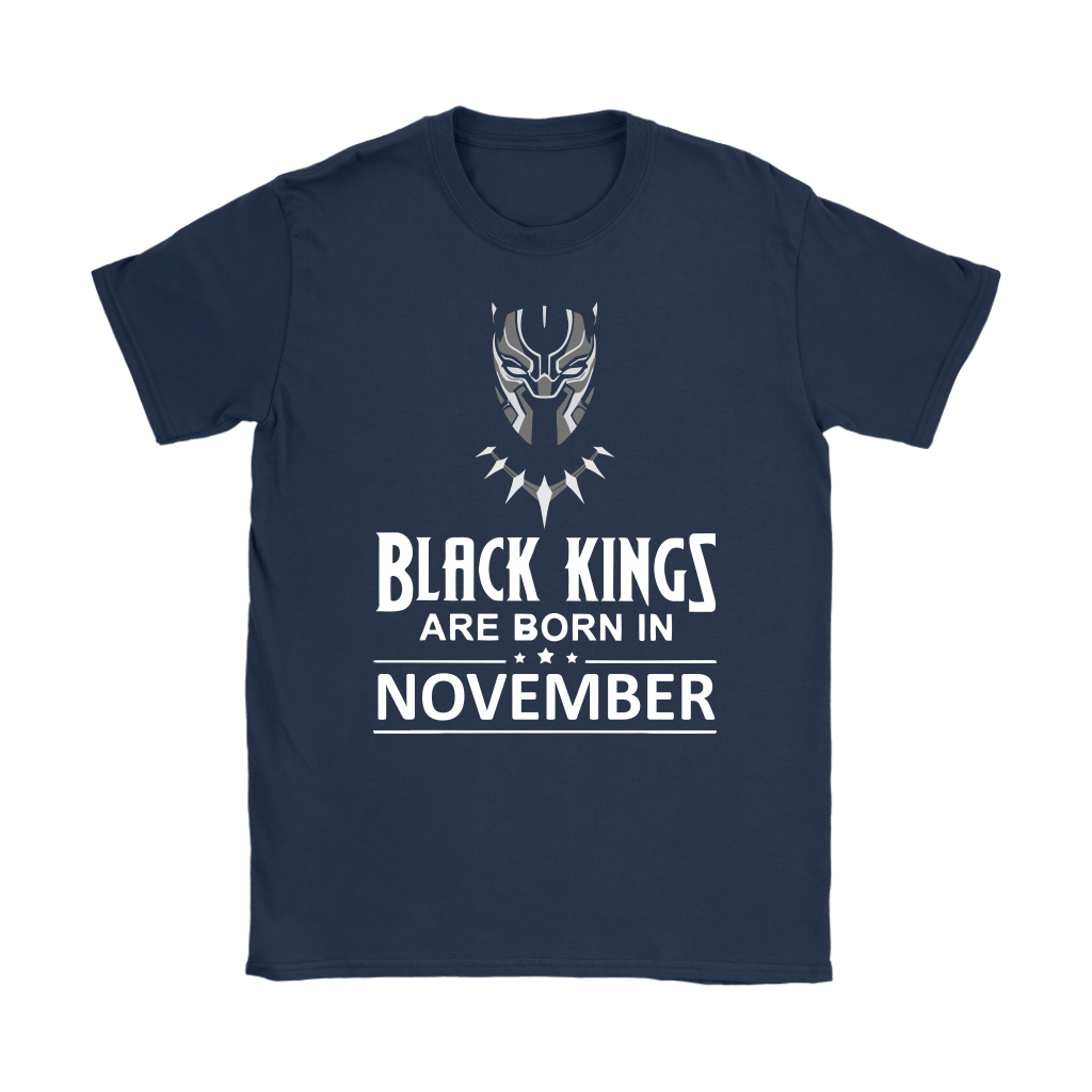 Black Kings Are Born In November Black Panther Shirts 8