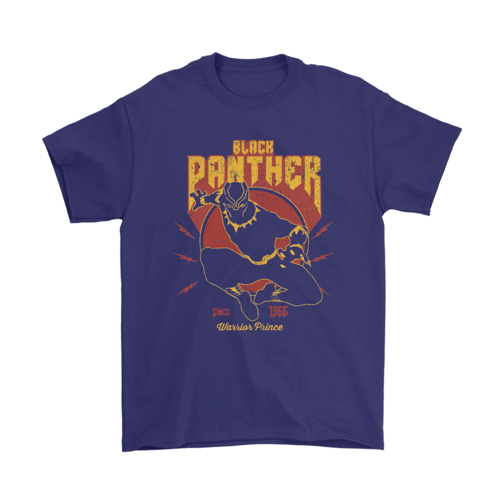 Black Panther Since 1955 Warrior Prince Shirts 4