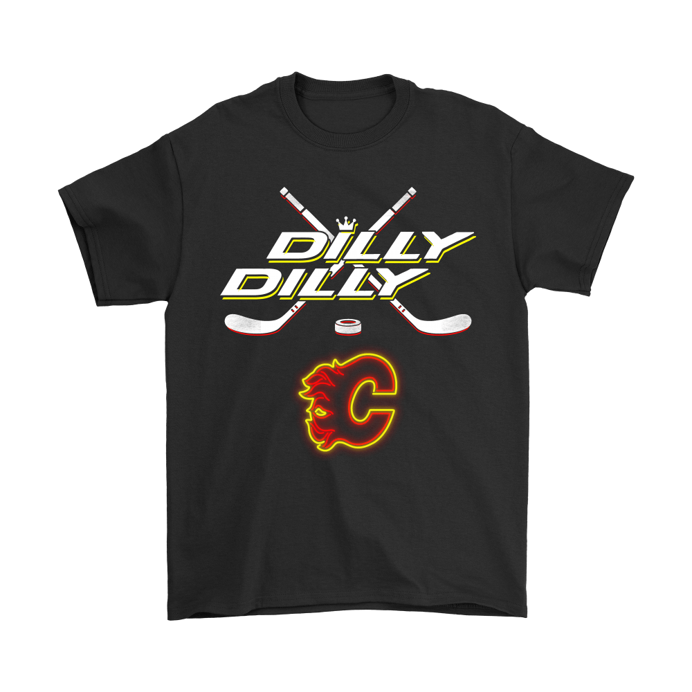 Bud Light: Dilly Dilly! Calgary Flames NHL Neon Light