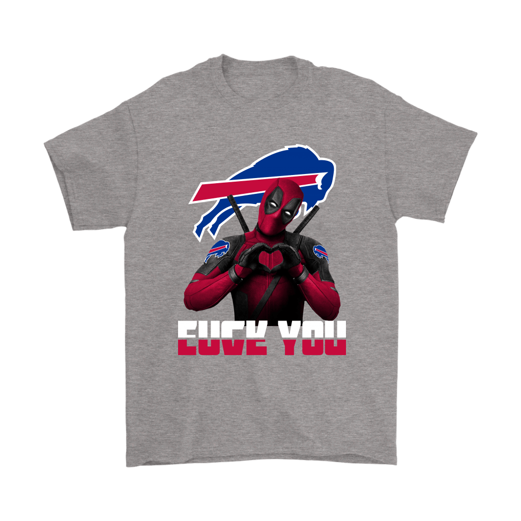 Buffalo Bills x Deadpool Fuck You And Love You NFL Shirts 6