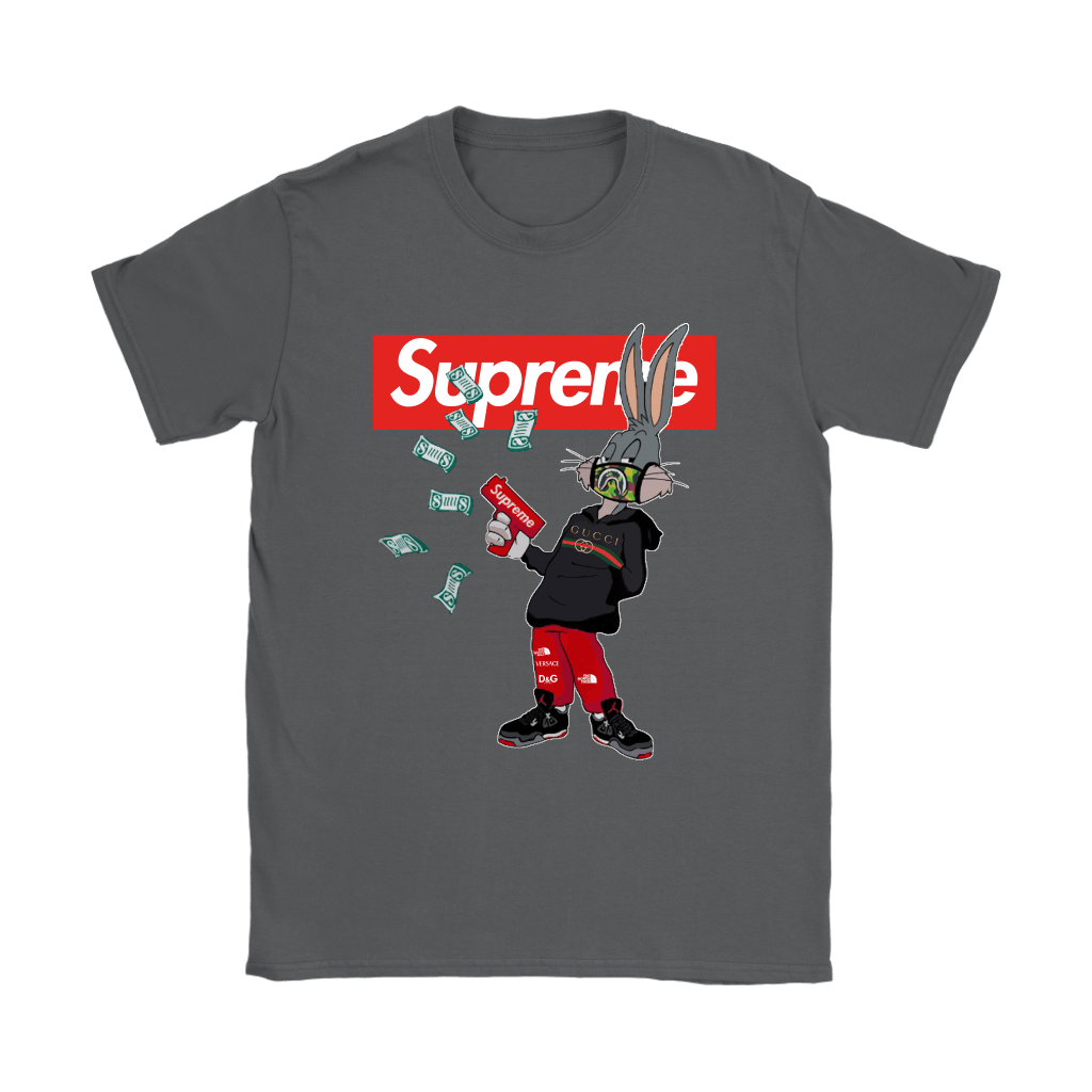 Bugs Rabbit Supreme And Gucci Mashup Shirts 9