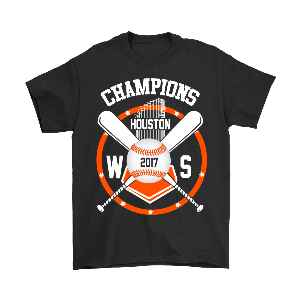 Champions 2017 Baseball Houston Astros World Series Shirts 1