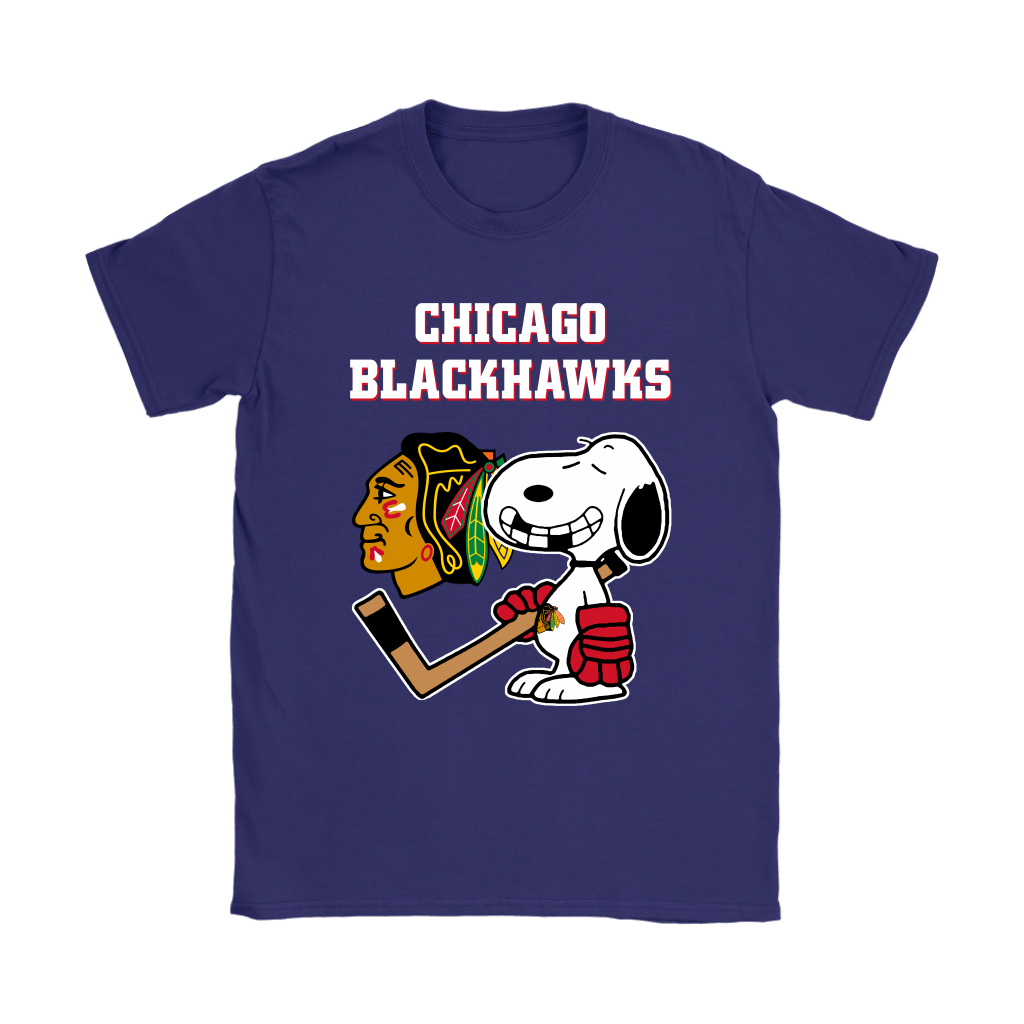 Chicago Blackhawks Ice Hockey Broken Teeth Snoopy NHL Shirts 11