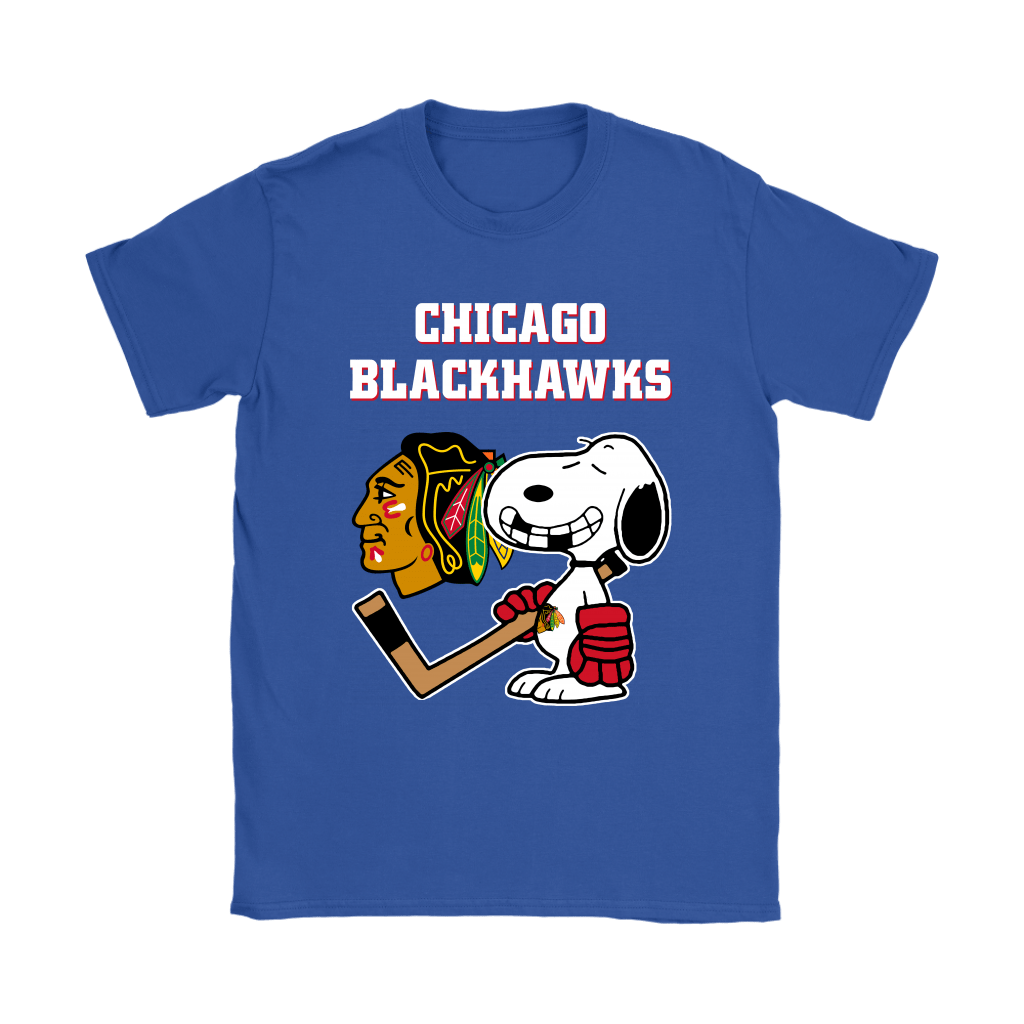 Chicago Blackhawks Ice Hockey Broken Teeth Snoopy NHL Shirts 13
