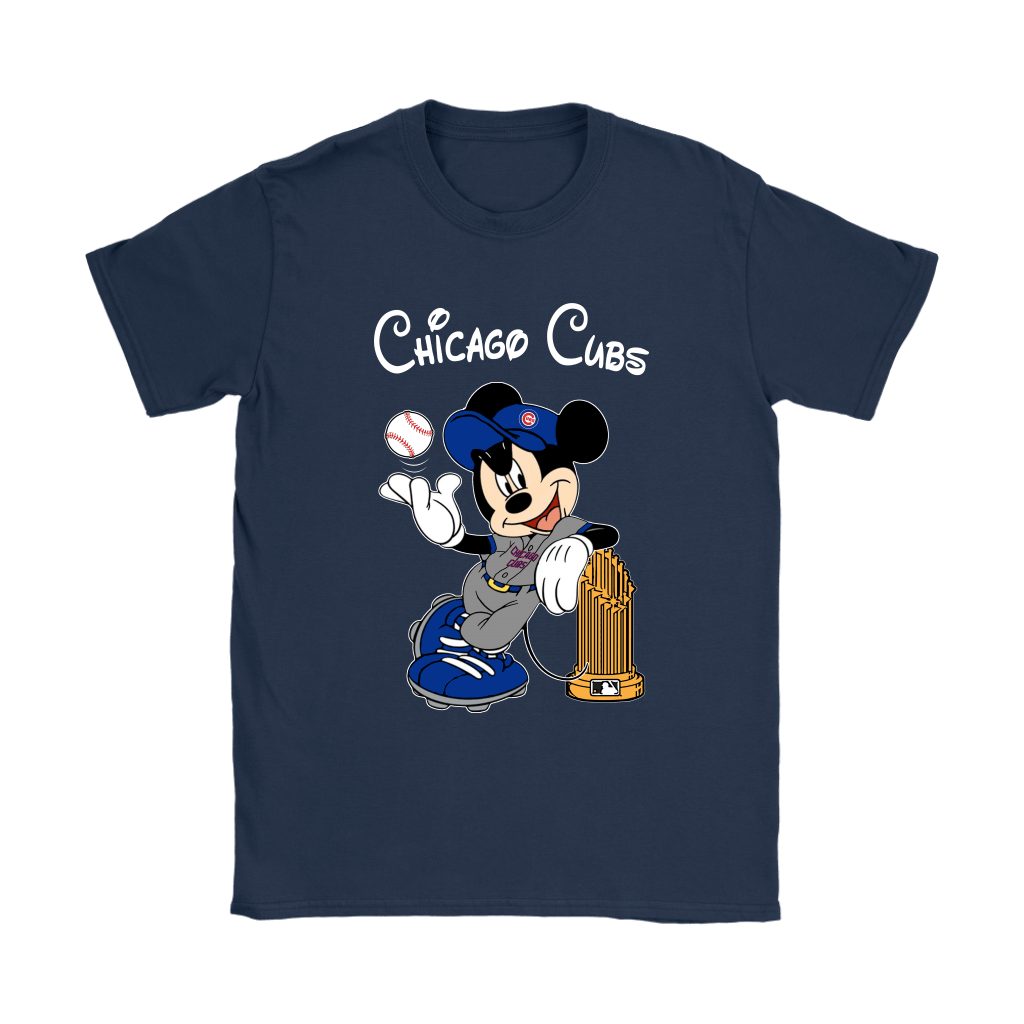 Chicago Cubs Mickey Taking The Trophy MLB 2018 Shirts 10