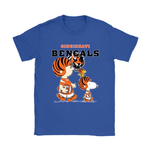 Cincinnati Bengals Let's Play Football Together Snoopy NFL Shirts 12