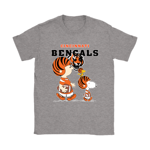 Cincinnati Bengals Let's Play Football Together Snoopy NFL Shirts 13