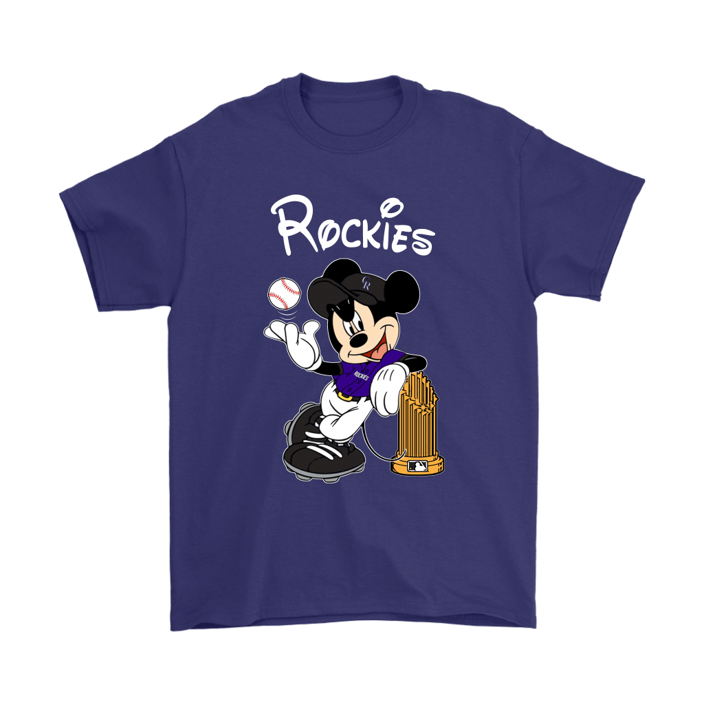 Colorado Rockies Mickey Taking The Trophy MLB 2018 Shirts 4