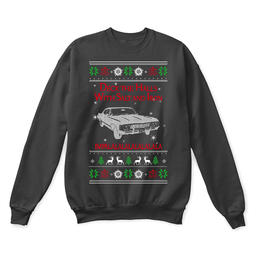 Deck The Halls Chevy Impalalalala Supernatural Ugly