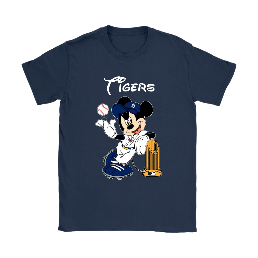 Detroit Tigers Mickey Taking The Trophy MLB 2018 Shirts 10