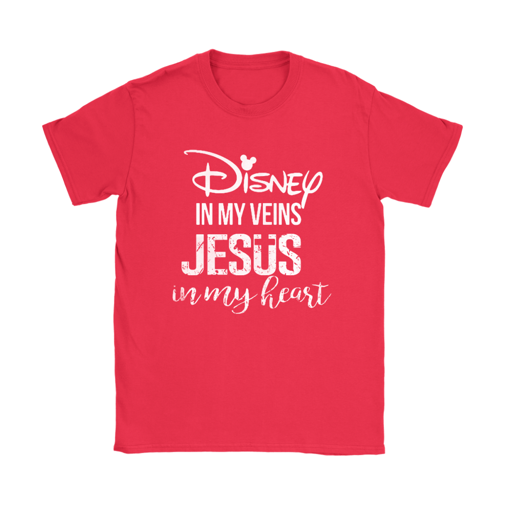 Disney In My Veins Jesus In My Hearts Shirts 13