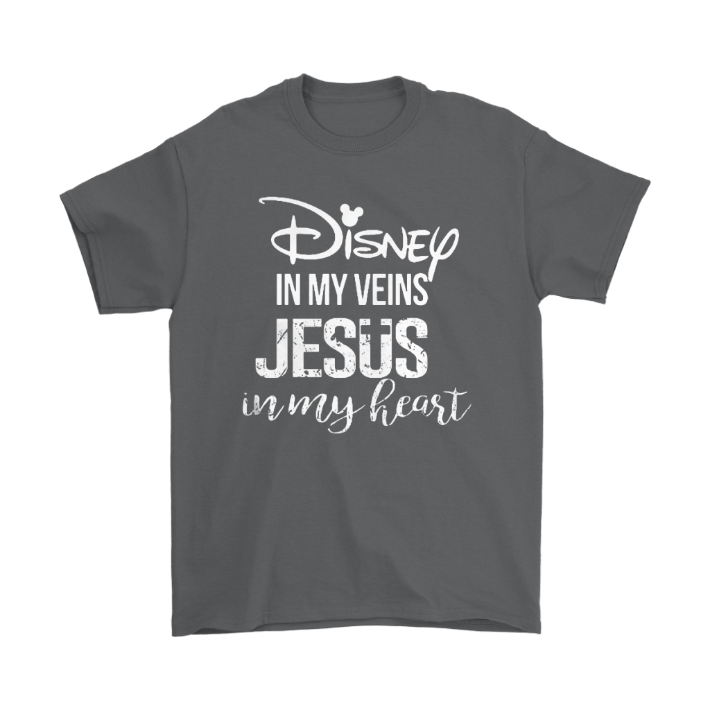 Disney In My Veins Jesus In My Hearts Shirts 2