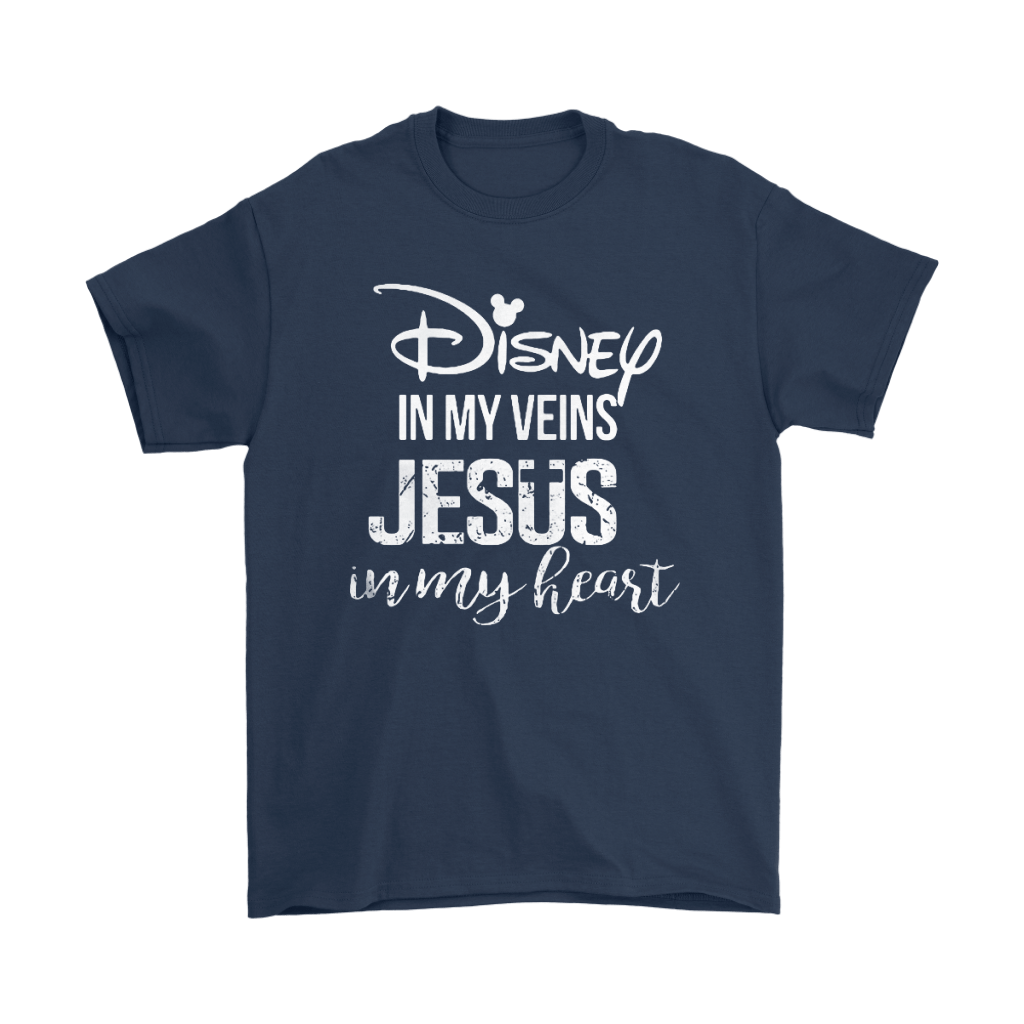Disney In My Veins Jesus In My Hearts Shirts 3