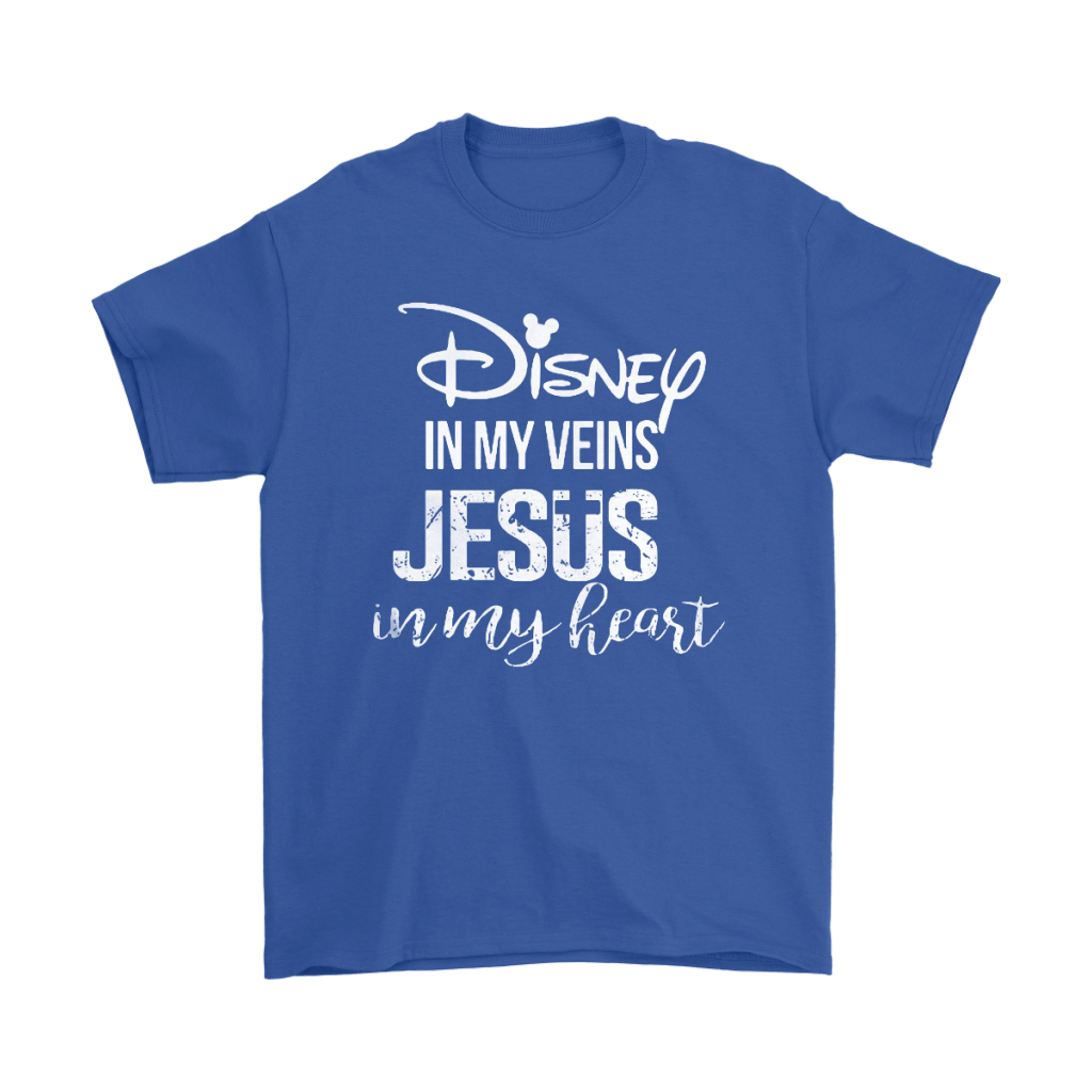Disney In My Veins Jesus In My Hearts Shirts 6