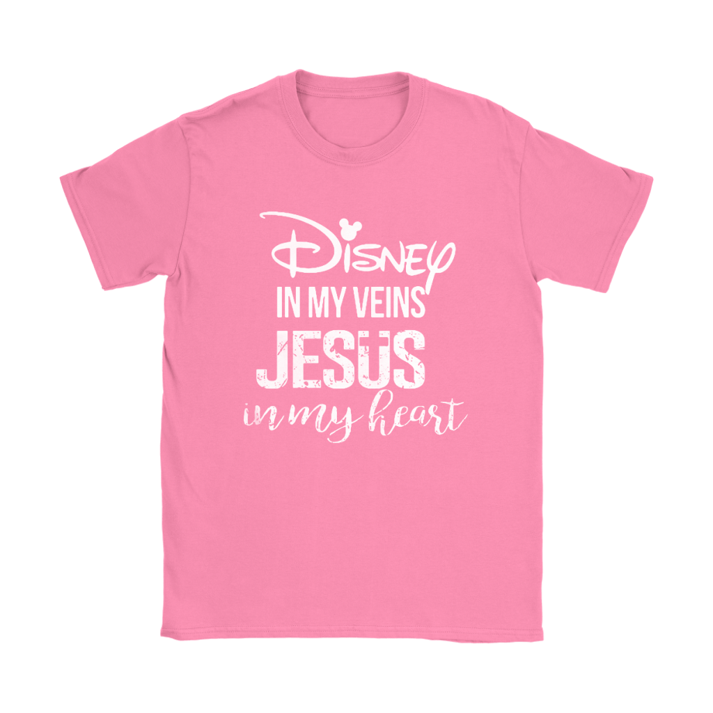Disney In My Veins Jesus In My Hearts Shirts 9