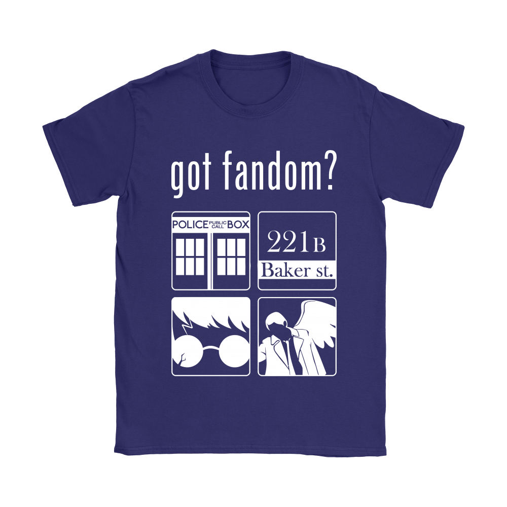 Doctor Who, Sherlock, Harry Potter And Supernatural Got Fandom Shirts 10