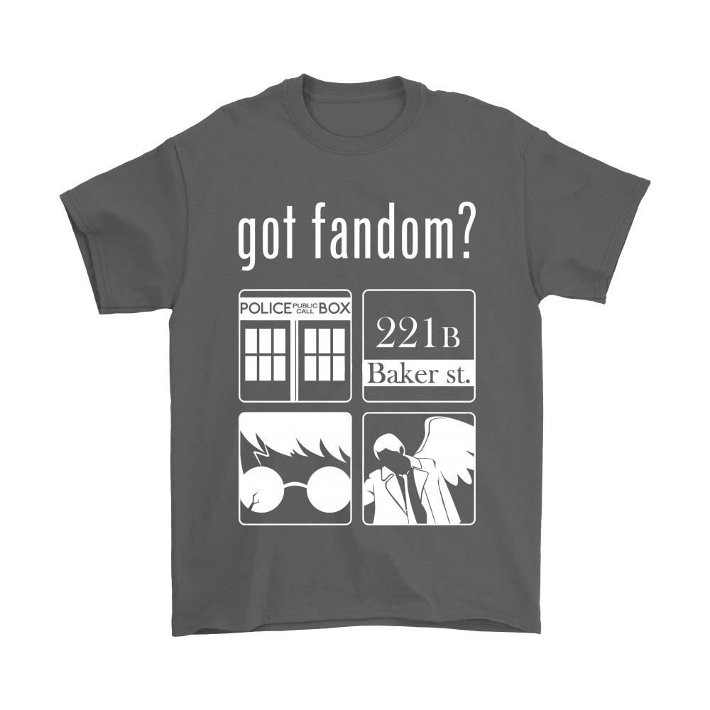 Doctor Who, Sherlock, Harry Potter And Supernatural Got Fandom Shirts 2