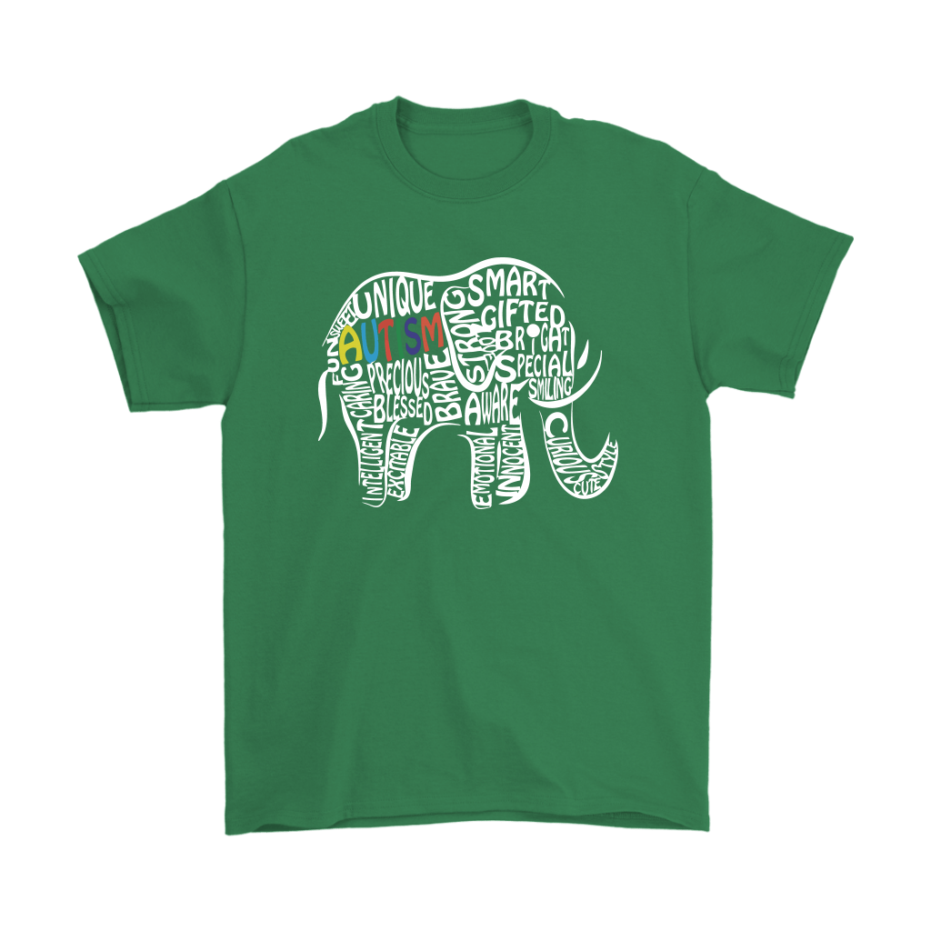 Elephant Autism Let Them Fit In Here With Us Shirts 5