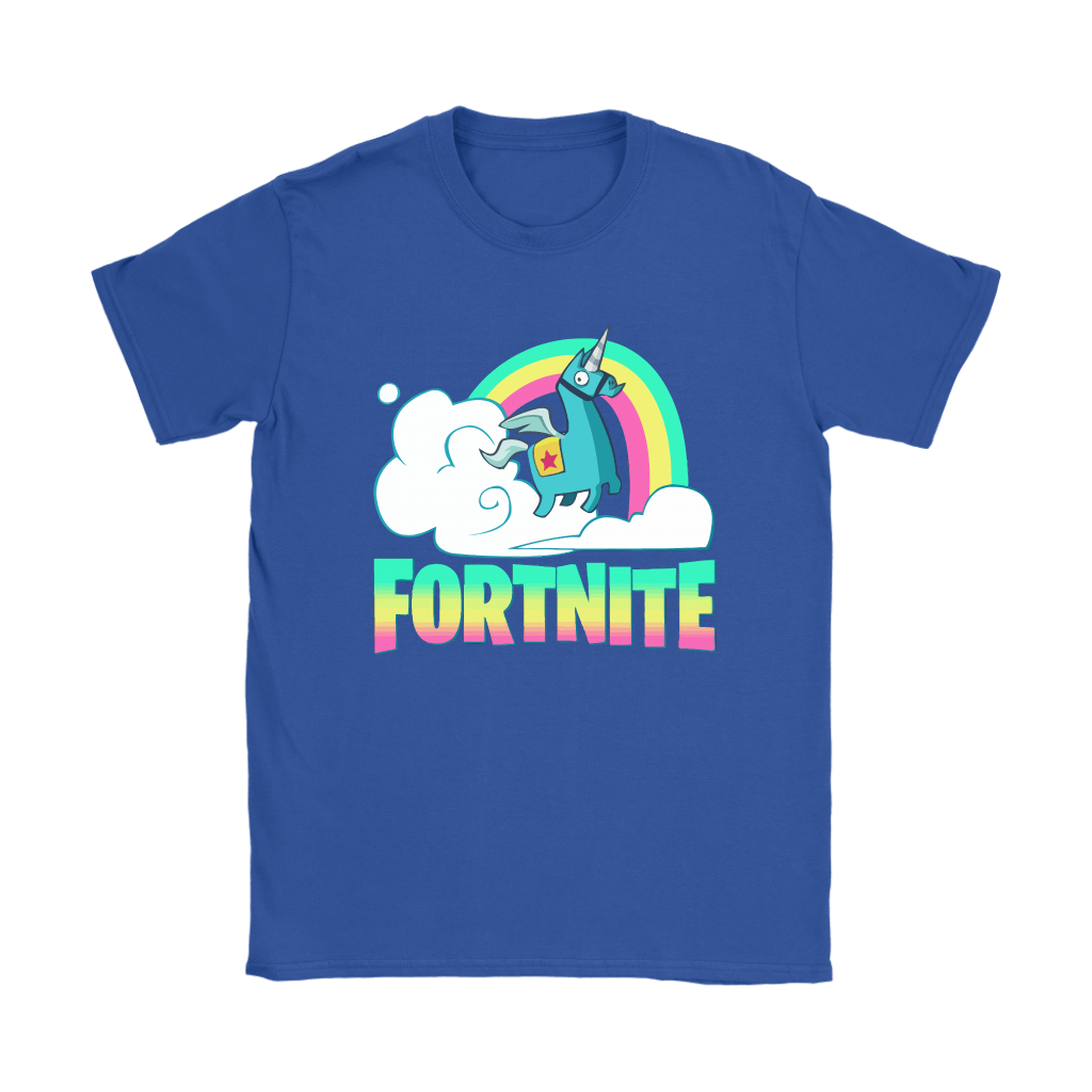 092286b8d Fortnite Battle Royale Rainbow Llama Unicorn Shirts Potatotee Store. Amazon  Com Battle Royale Boys Gaming T Shirt Clothing