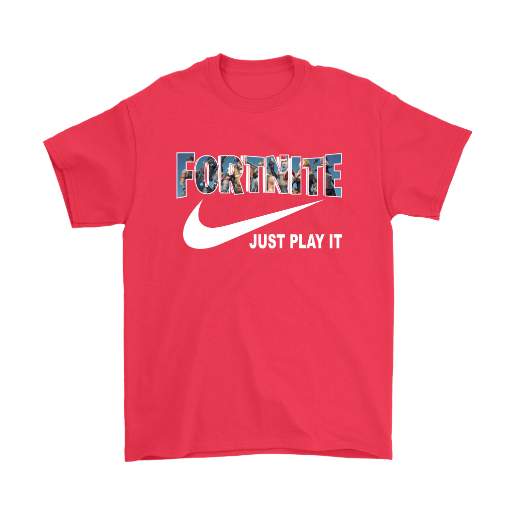 be5cad627 Fortnite Battle Royale x Nike Just Play It Shirts - Potatotee Store