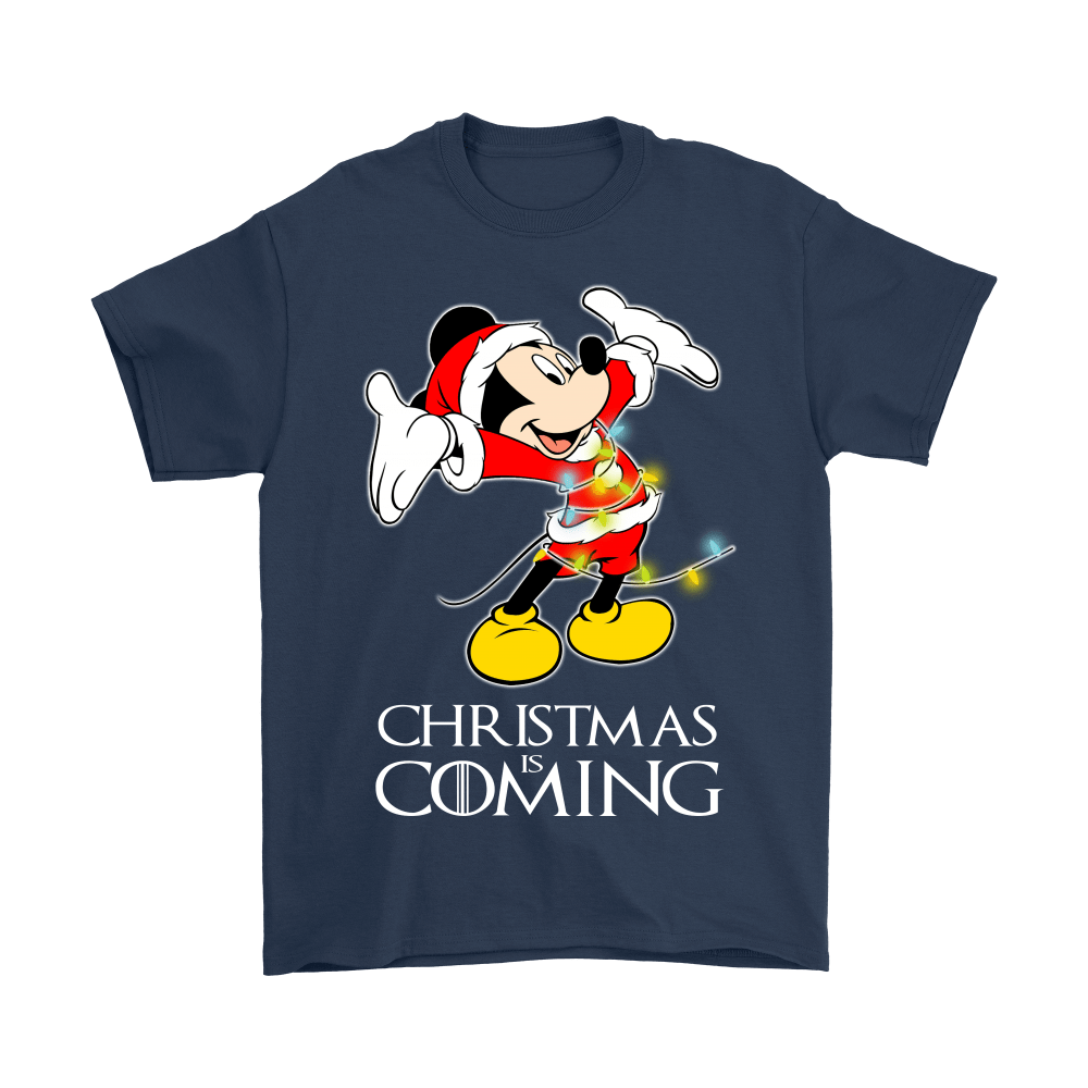 Game Of Thrones Christmas Is Coming Disney Mickey Shirts 3