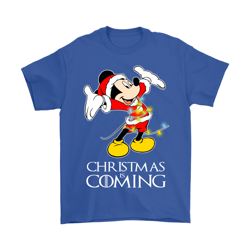 Game Of Thrones Christmas Is Coming Disney Mickey Shirts 6