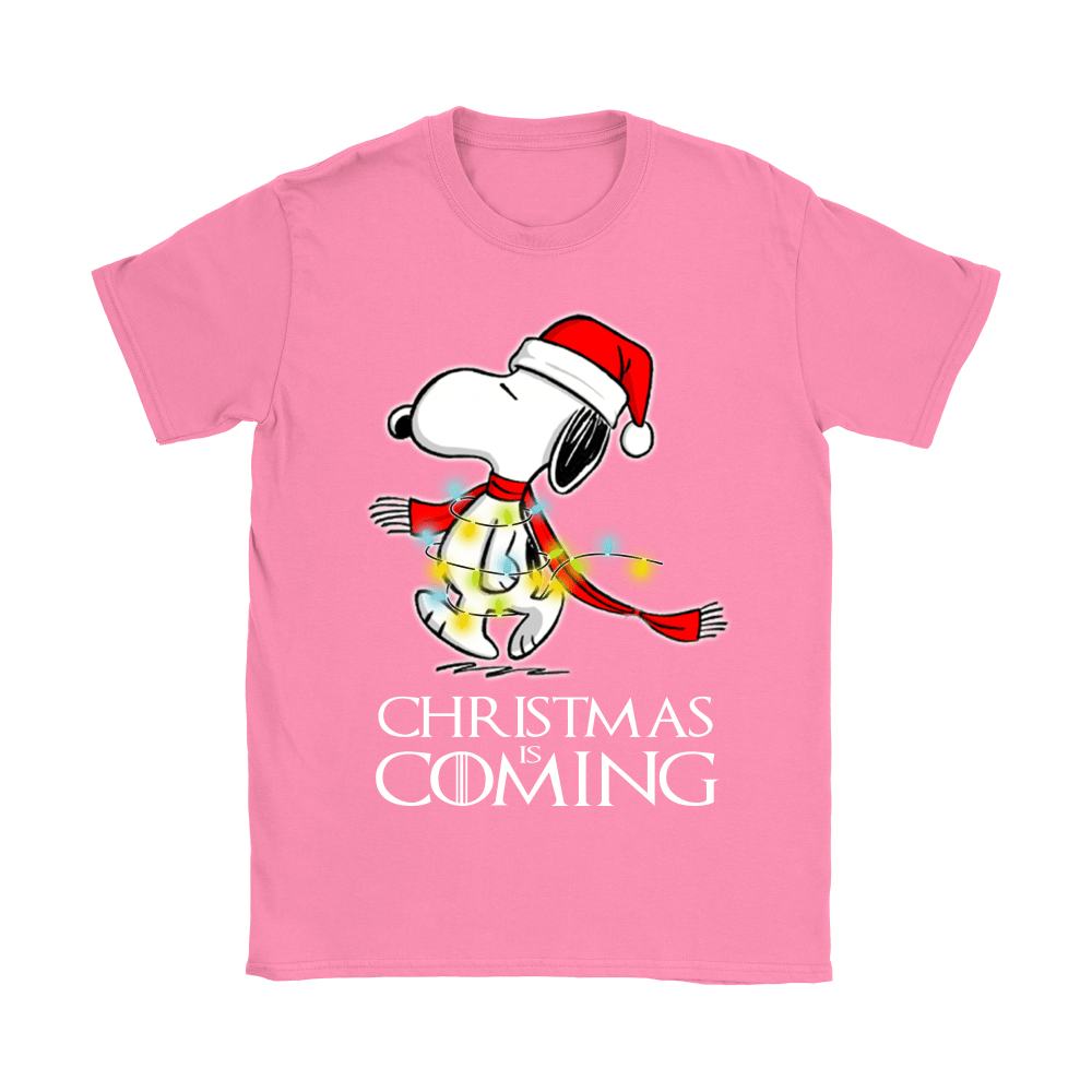Game Of Thrones Christmas Is Coming Snoopy Shirts 8