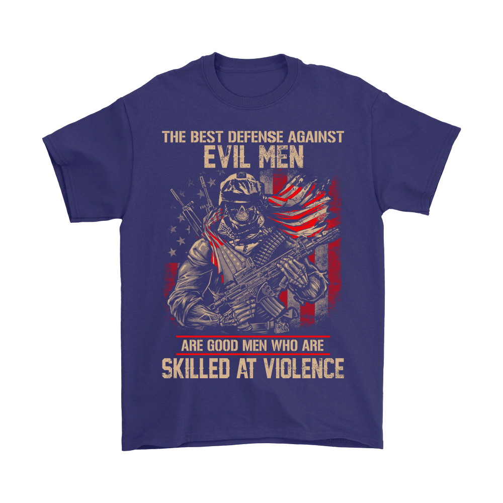 Good Men Who Are Skilled At Violence US Army Veterans Day Shirts 4