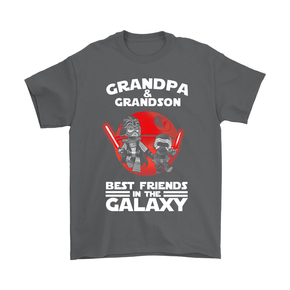 Grandpa And Grandson Best Friends In The Galaxy Shirts 2