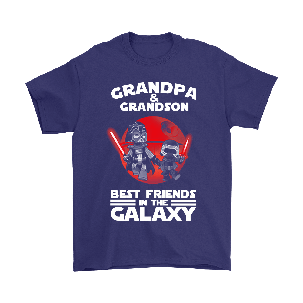 Grandpa And Grandson Best Friends In The Galaxy Shirts 4