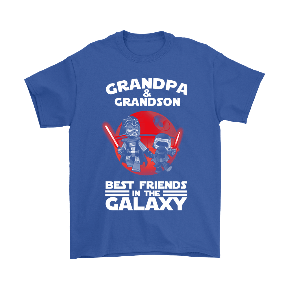 Grandpa And Grandson Best Friends In The Galaxy Shirts 5