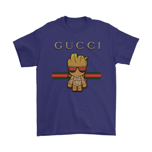 Gucci Guardians Of The Galaxy Baby Groot Shirts 4