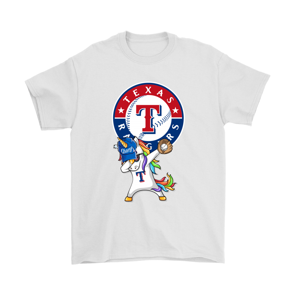 finest selection 15be5 6216b Hip Hop Dabbing Unicorn Flippin' Love Texas Rangers Shirts