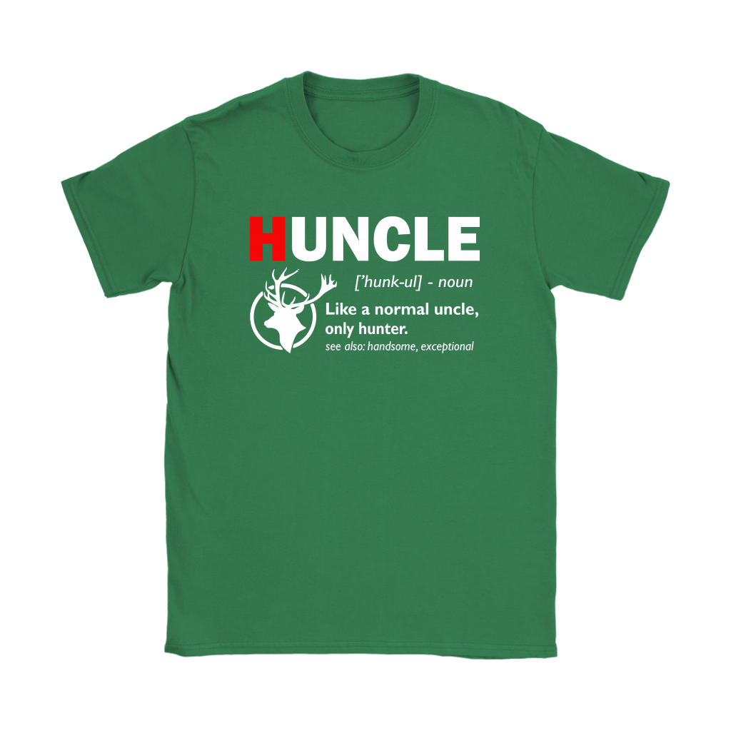 Huncle Like A Normal Uncle Only Hunter Definition Shirts 14