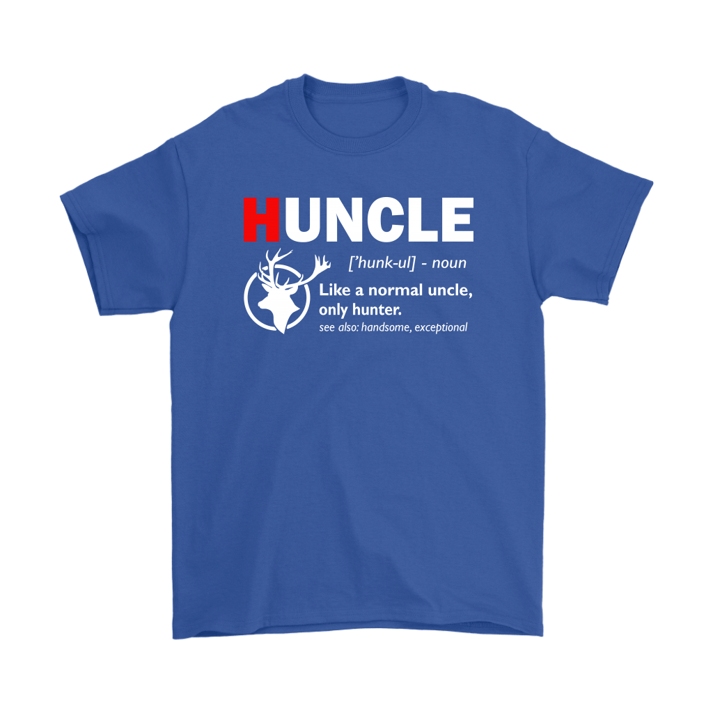 Huncle Like A Normal Uncle Only Hunter Definition Shirts 5