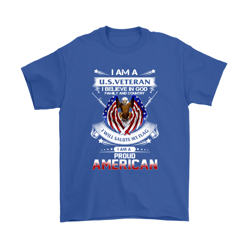 I Am A U.S. Veteran American I Believe In God Shirts 16
