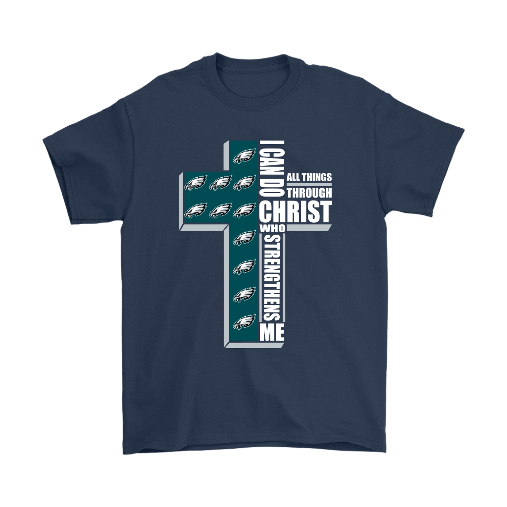 I Can Do All Things Through Christ Philadelphia Eagles Shirts 3