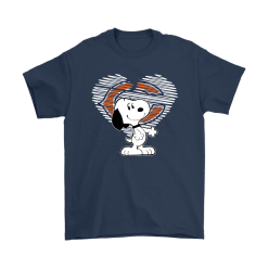 I Love Chicago Bears Snoopy In My Heart NFL Shirts 14