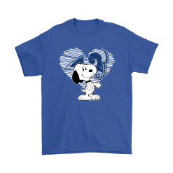 I Love Los Angeles Rams Snoopy In My Heart NFL Shirts 16