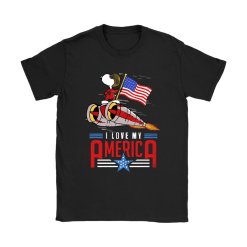 I Love My America Snoopy Independence Day 4th Of July Shirts 21