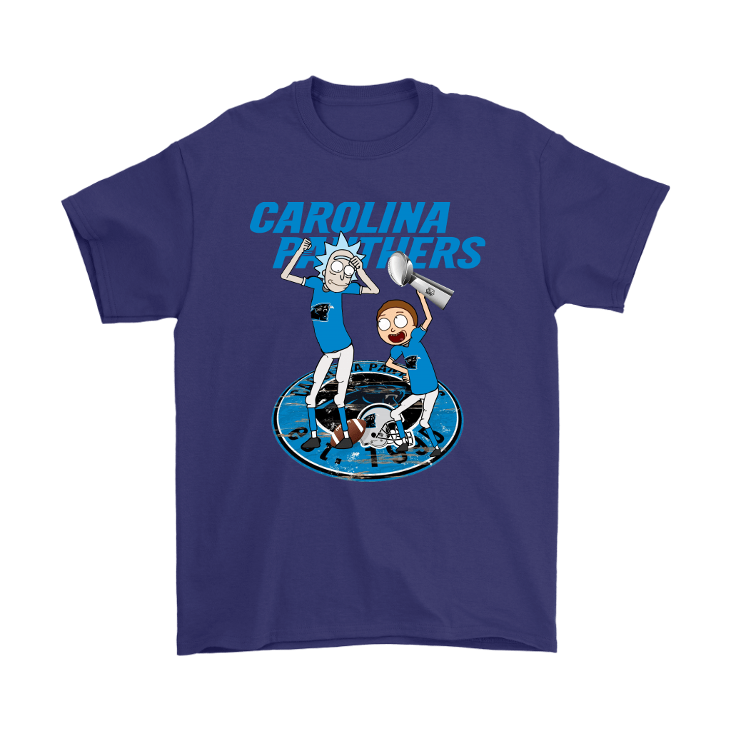 I Turned Myself Into A Carolina Fan Morty, I'm Panther Rick Shirts 4