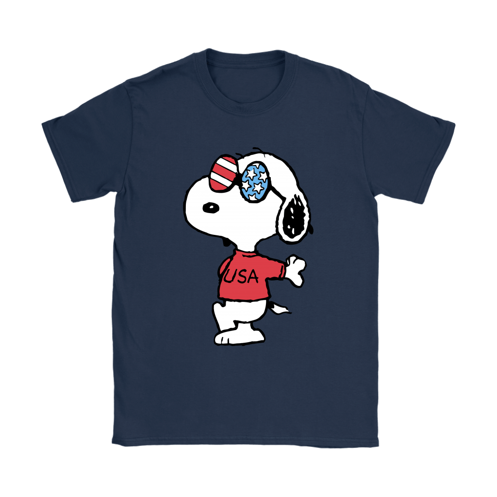 Joe Cool Independence Day 4th of July USA Snoopy Shirts 10