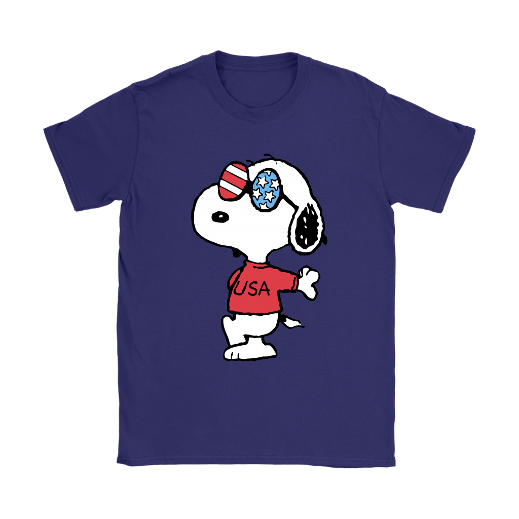 Joe Cool Independence Day 4th of July USA Snoopy Shirts 11