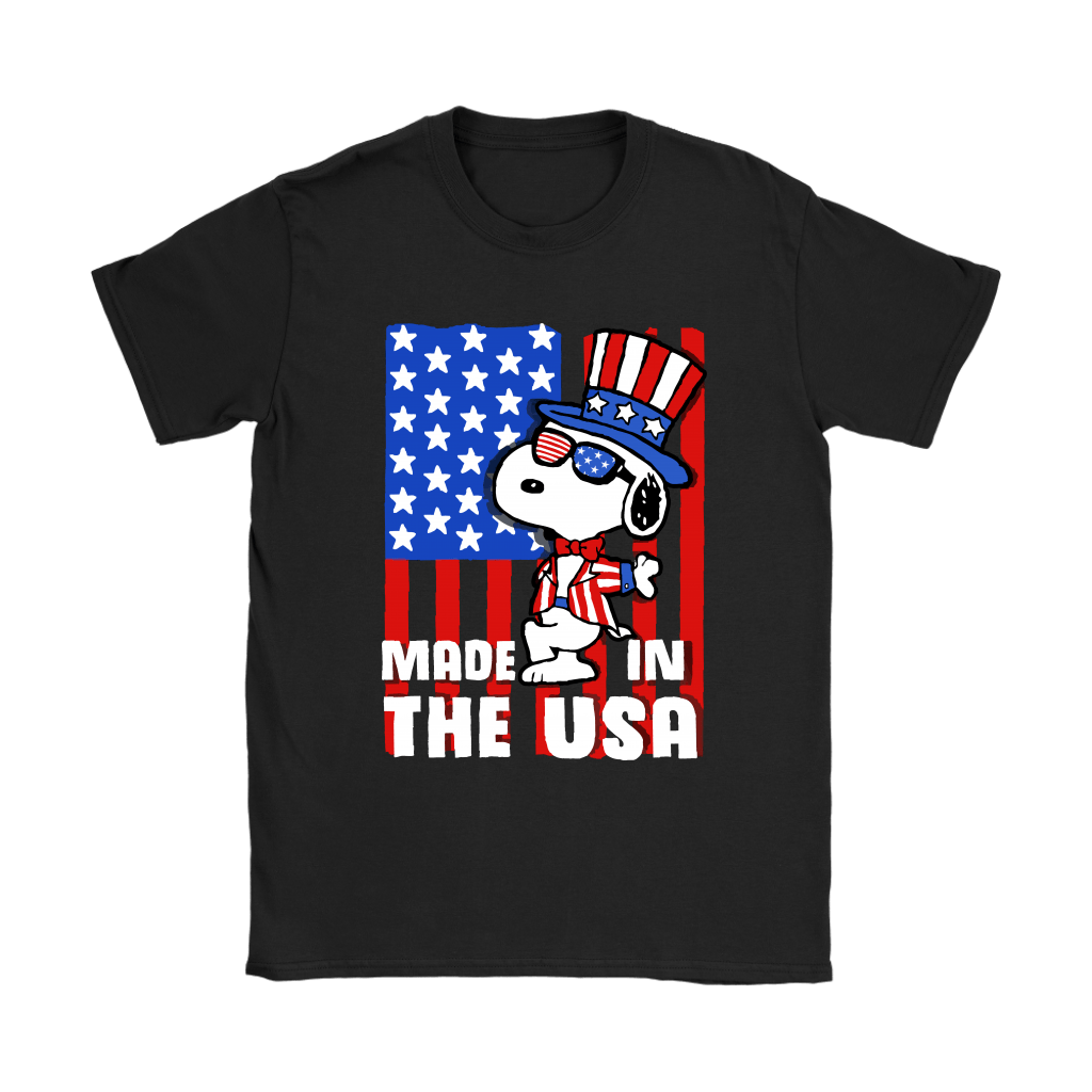 Joe Cool Made In The USA Independence Day 4th Of July Snoopy Shirts 7