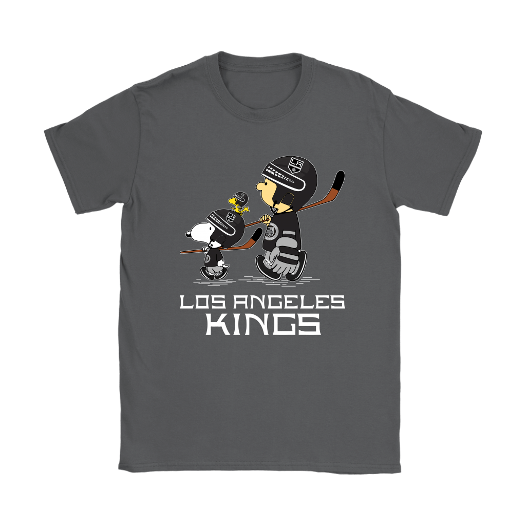 Let's Play Los Angeles Kings Ice Hockey Snoopy NHL Shirts 8