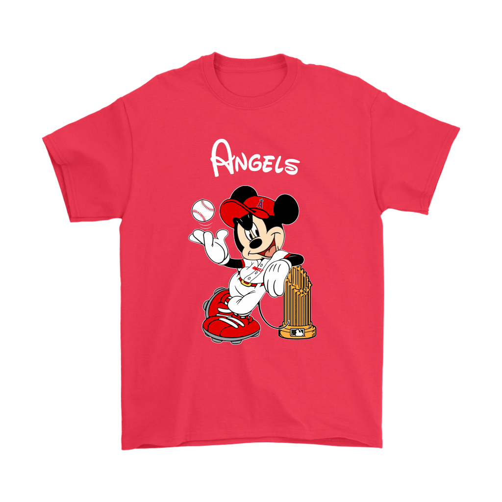 Los Angeles Angels Mickey Taking The Trophy MLB 2018 Shirts 5